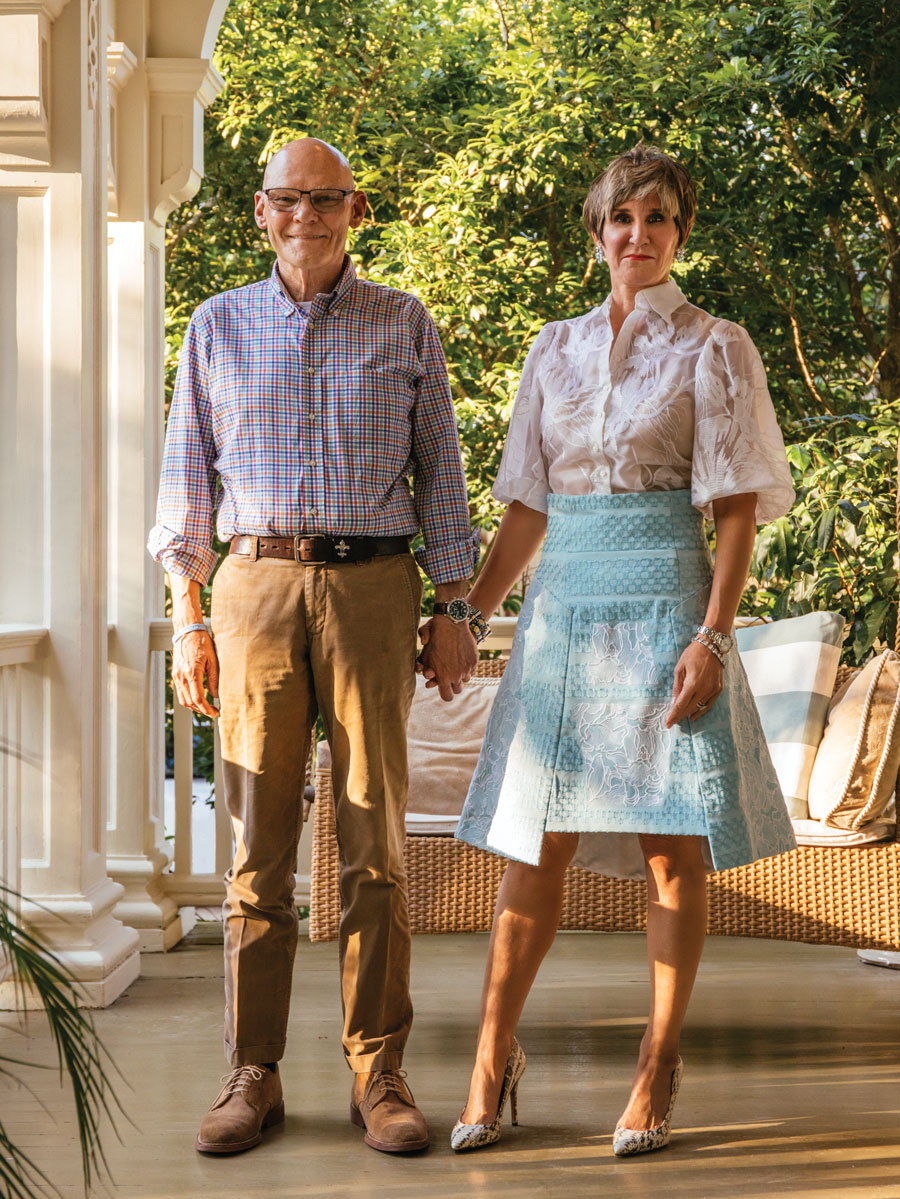 James Carville and Mary Matalin