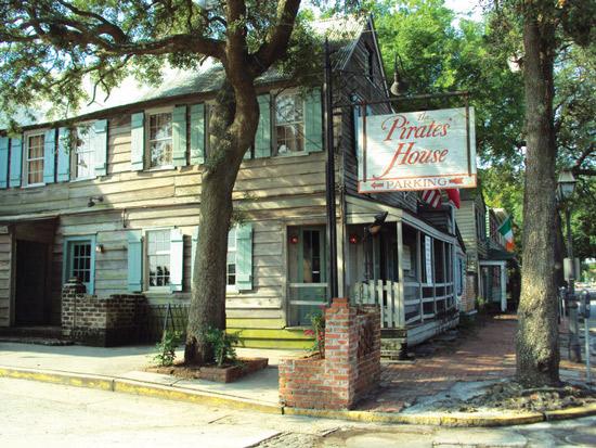 The Pirates' House, Savannah, Georgia