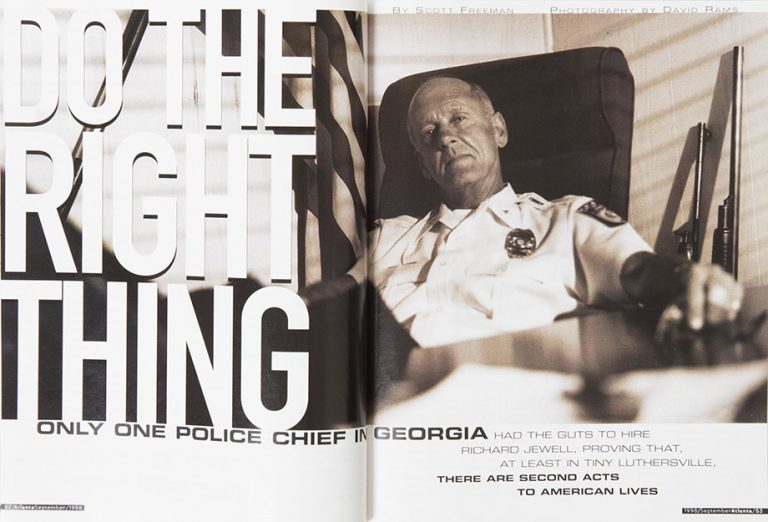 Do the Right Thing: A Police Chief in Luthersville Takes a Chance on Richard Jewell