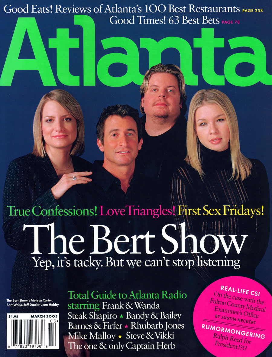 March 2005 cover The Bert Show