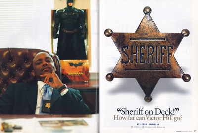 """Sheriff on Deck!"""