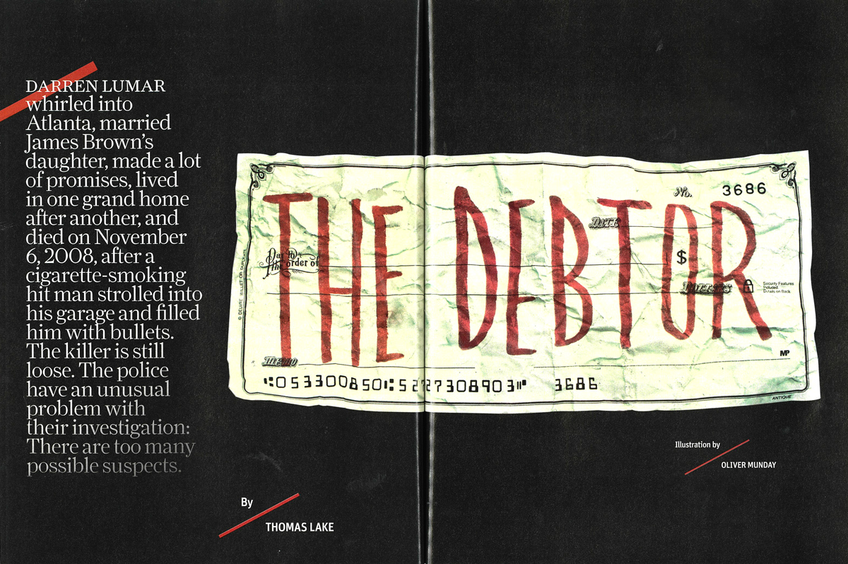The Debtor: Who killed James Brown's son-in-law, Darren Lumar?