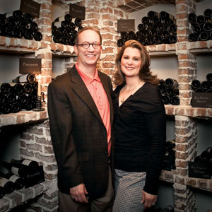 A French Wine Cave in Johns Creek