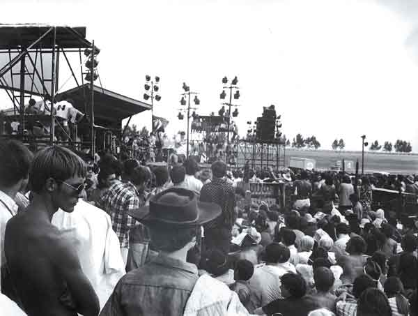 The first Atlanta International Pop Festival