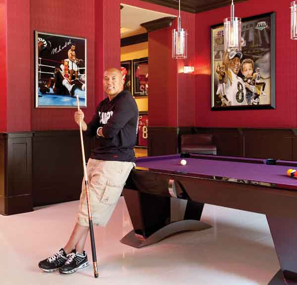 Hines Ward Builds His Dream House