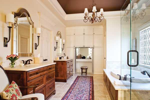 Warm Palette Bathroom Remodel