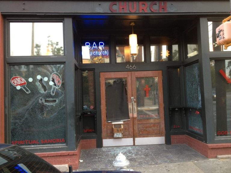 Sister Louisa's Church vandalized, owner says the bar was targeted
