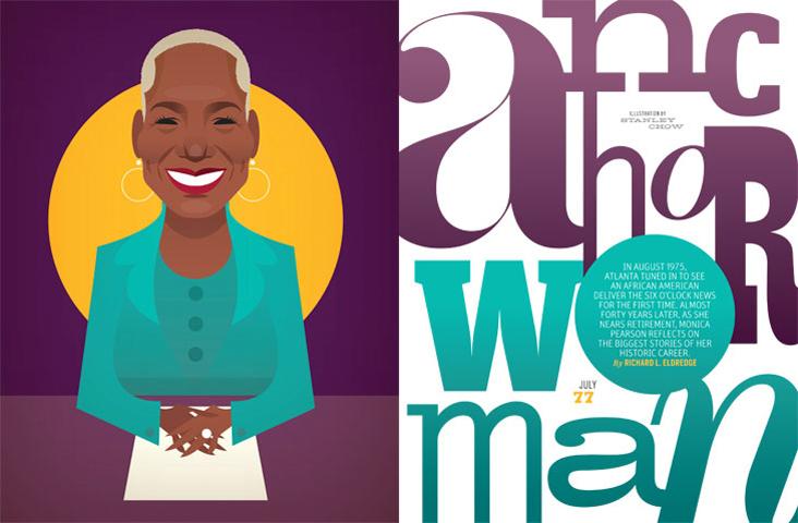 Anchor Woman - Atlanta Magazine