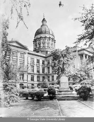 Dedication of the Georgia Capitol