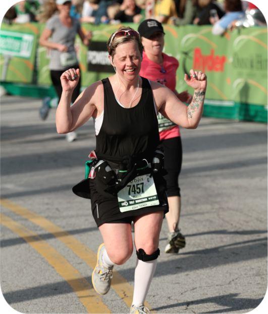 Running the Publix Half-Marathon