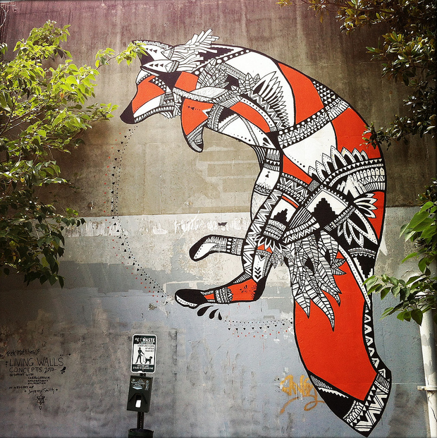 24. Go on a public art scavenger hunt