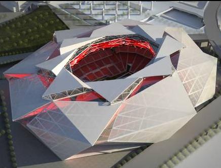 Falcons stadium rendering