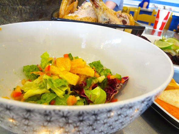 Orange Salad with Serrano Dressing