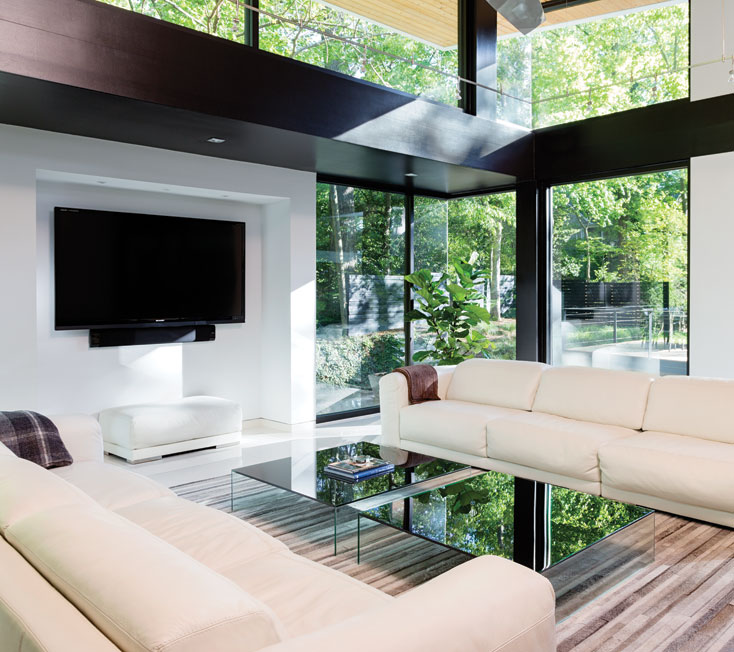 A Modern Home Designed for Serenity