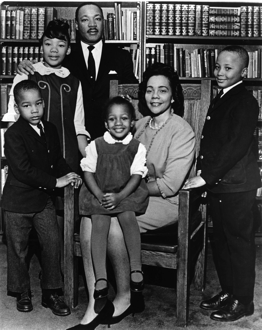 Bernice King Martin Luther King Jr. family