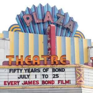 Don't miss out on the last two days of Plaza's Bond binge