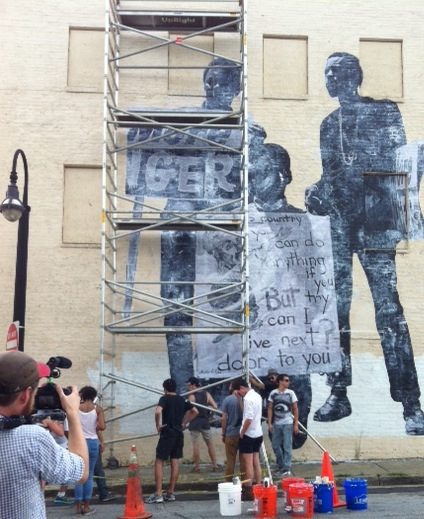 Civil rights themed murals installed in the King District