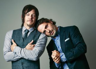 The Walking Dead's Daryl (Norman Reedus) and Rick Grimes (Andrew Lincoln)