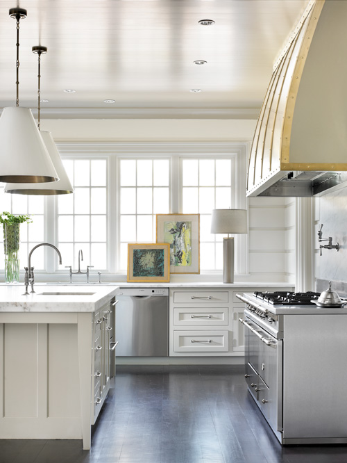 Inside Look: Melanie Turner's updated take on the white kitchen