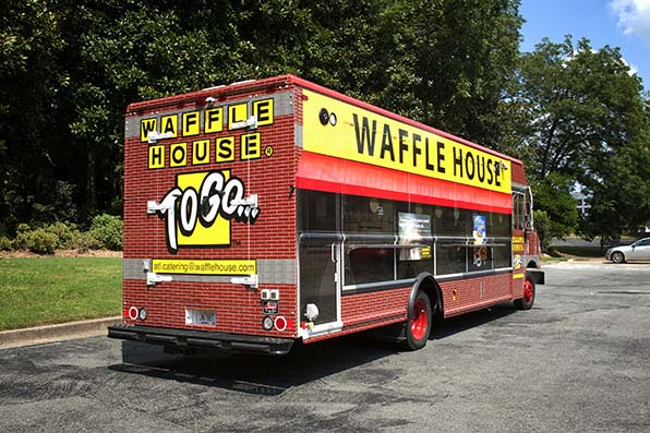 Waffle House Launches New Food Truck Focused On Disaster Relief