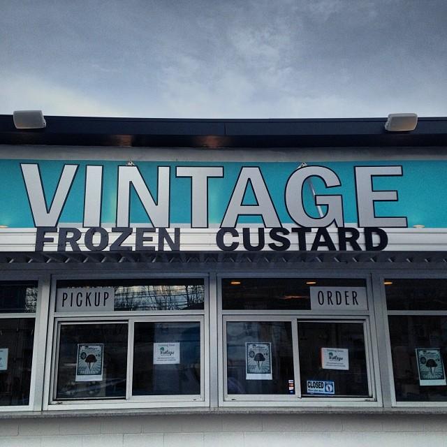 Vintage Frozen Custard to open March 1