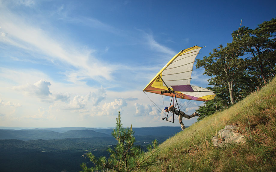 Lookout Mountain Hand Gliding