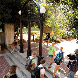 Athens comes alive when school's in session