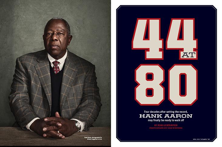 Hank Aaron: 44 at 80
