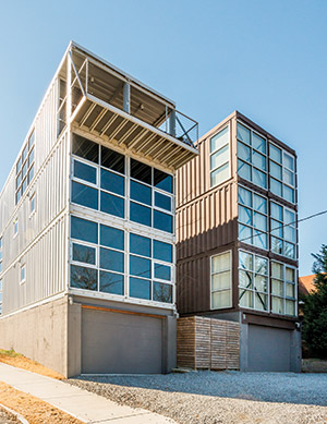 Superb These Atlanta Homes Are Made From Old Shipping Containers Download Free Architecture Designs Grimeyleaguecom