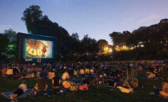 5 places to catch films under the stars