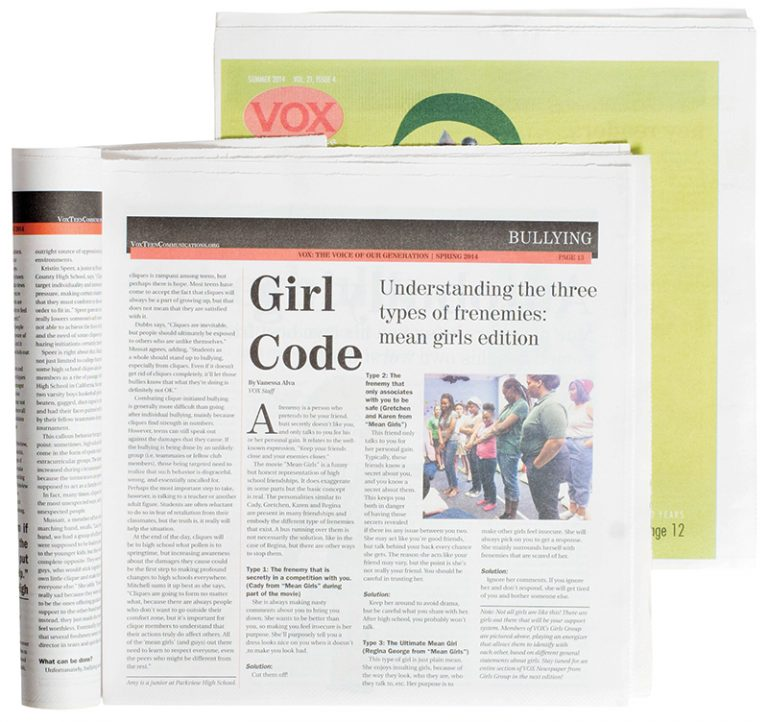 Vox Teen Communications