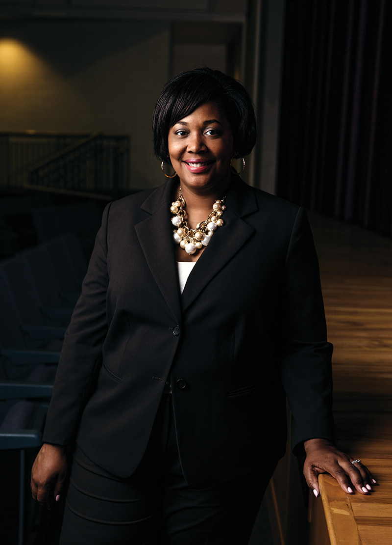 "When boys are absent, ""we see confidence to speak up,"" says Principal Termerion McCrary Lakes"