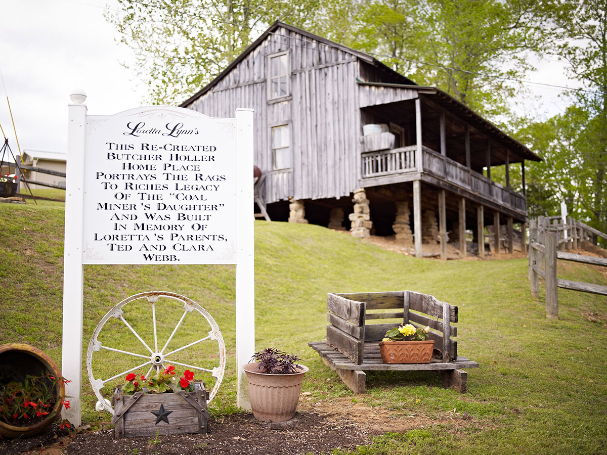 Butcher Holler home place