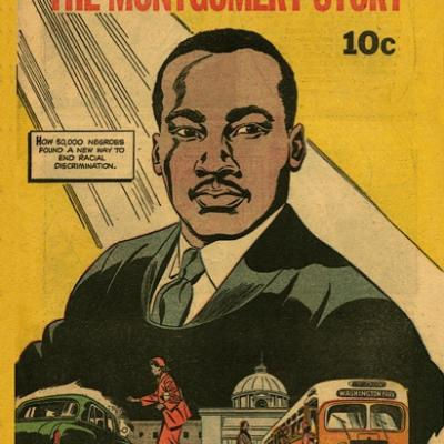 The influential comic about King and the Montgomery Bus Boycott