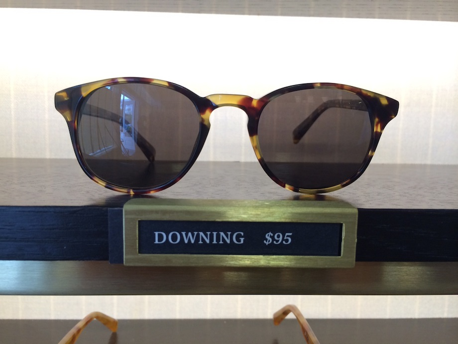 Warby Parker's classic Downing style, $95