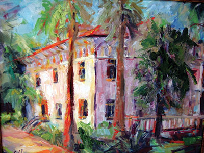 22. Goodyear Cottage, Jekyll Island Arts Association (as depicted by Louise L. Hooper), Jekyll Island Historic District