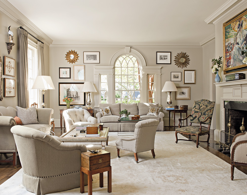 Though created over a couple of decades, the homes featured in Askins' book, Inspired by Tradition (Monacelli Press), appear timeless. Text and principal photography are by Susan Sully.