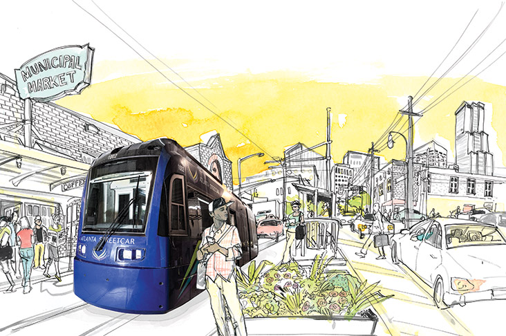 What to expect on an Atlanta Streetcar ride