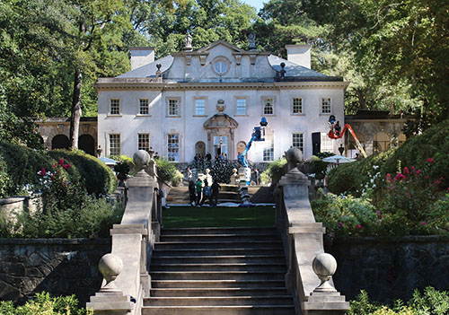 Atlanta History Center's Swan House
