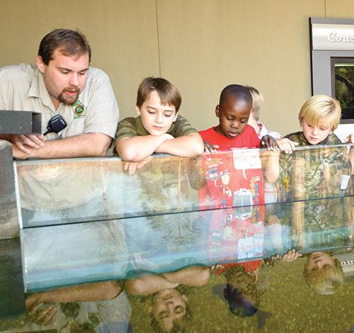 Photograph courtesy of Go Fish Education Center