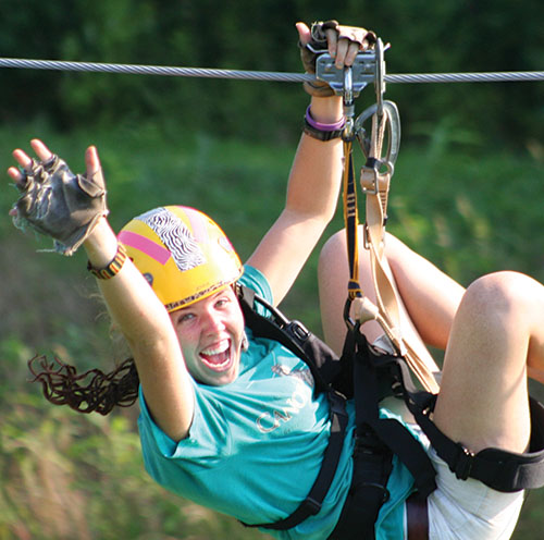 Photograph courtesy of North Georgia Canopy Tours