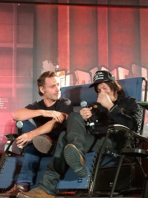 Photograph courtesy of Walker Stalker Con