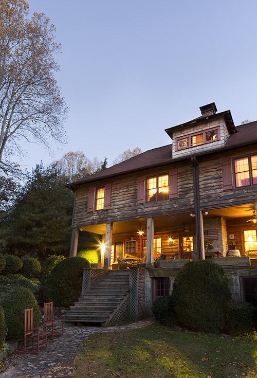 "Enjoy daily ""wine thirty"" (5:30 p.m.) on the wraparound porch."
