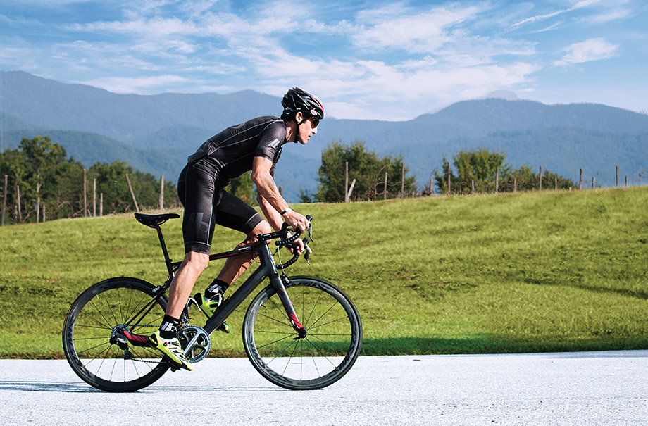 George Hincapie owns a pro racing team based in nearby Greenville that trains along his recommended routes.