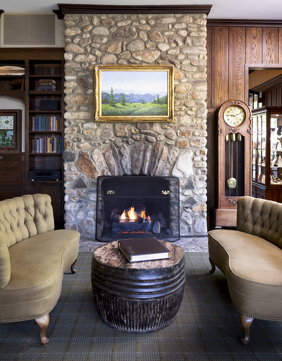The inn has fresh furnishings, but its website images had not been updated at press time.