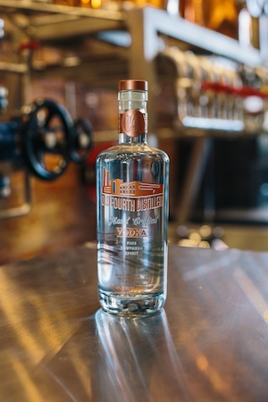 Old Fourth Distillery begins production of craft vodka, gin