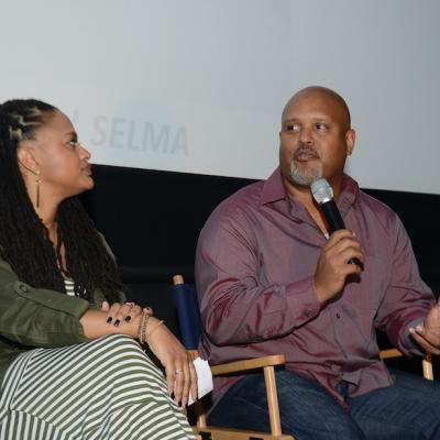 Director DuVernay and executive producer Garnes discuss Selma during a screening at the BronzeLens Film Festival.