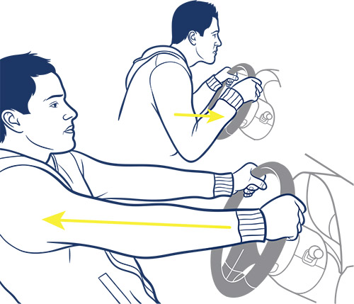 How to work out in your car