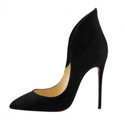 "Christian Louboutin ""Mea Culpa"" heel, $895"