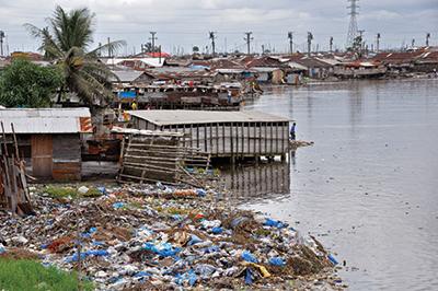 Monrovia, an Ebola-stricken region of Liberia